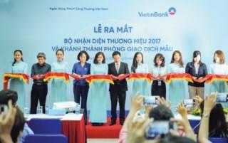 Bộ Nhận diện thương hiệu VietinBank 2017: Thông điệp từ trái tim đến trái tim