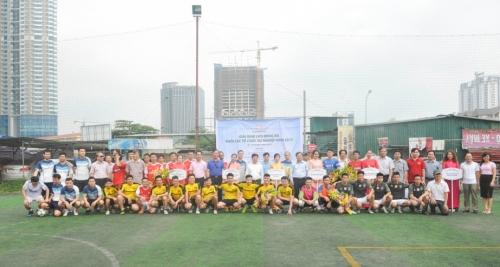 Giải bóng đá Khối các đơn vị sự nghiệp ngành Ngân hàng 2017 thành công tốt đẹp