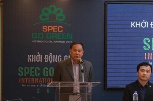 Khởi động giải Spec Go Green 2017 dành cho sinh viên kiến trúc khu vực châu Á