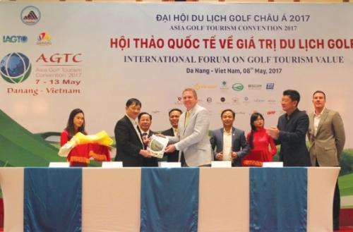 AGTC 2017: Cơ hội du lịch golf Việt Nam