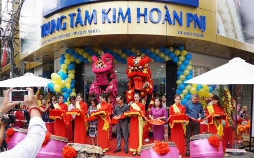 PNJ khai trương Trung tâm kim hoàn mới tại Quy Nhơn