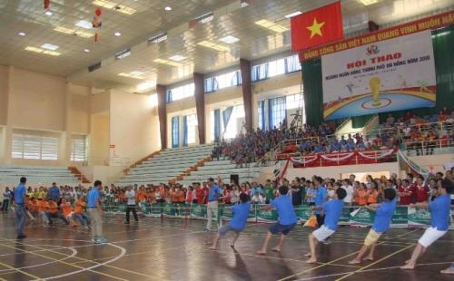 Khai mạc Hội thao ngành Ngân hàng TP. Đà Nẵng năm 2018