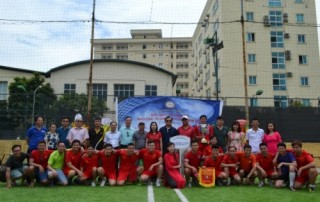 Giải bóng đá giao lưu Khối các đơn vị sự nghiệp 2018 thành công tốt đẹp