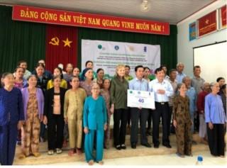 Thêm 40 căn nhà an toàn bàn giao cho người dân ở Quảng Ngãi