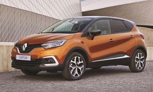 Renault Captur bản nâng cấp có giá khoảng 626 triệu đồng