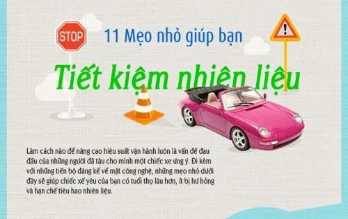 [Infographic] Một số mẹo đơn giản để tiết kiệm nhiên liệu và bảo vệ động cơ
