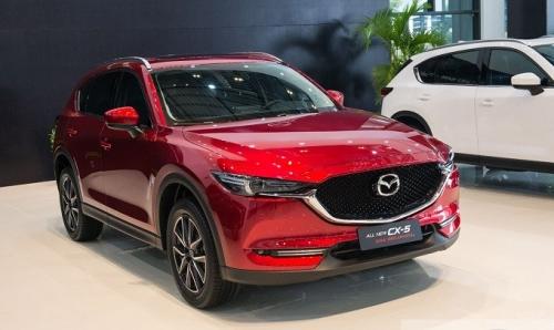 Mazda CX-5 giảm giá sốc trong tháng 5