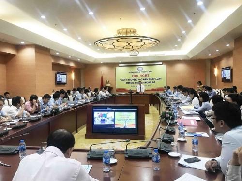 Hội nghị trực tuyến tuyên truyền, phổ biến pháp luật phòng, chống khủng bố