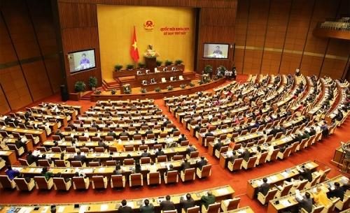 Quốc hội xem xét, quyết định nhiều nội dung quan trọng