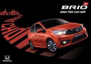 Đặt mua Honda Brio, nhận ngay quà tặng trị giá 7 triệu đồng