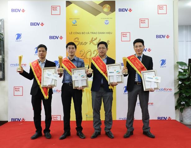 Kiến tạo xã hội số, Viettel giữ vững ngôi vị dẫn đầu giải thưởng Sao Khuê