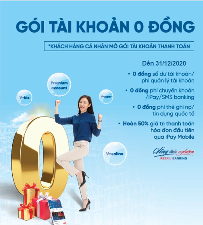 VietinBank ưu đãi khách hàng giao dịch qua tài khoản thanh toán