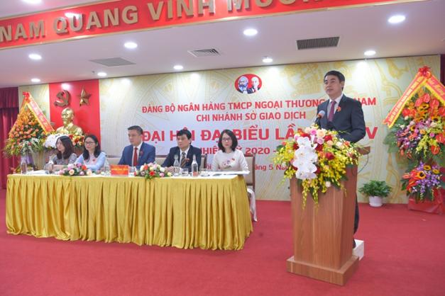 Đại hội Đảng bộ Vietcombank Sở giao dịch nhiệm kỳ 2020 – 2025: Giữ vững vị thế lá cờ đầu trong hệ thống