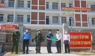 NHCSXH ủng hộ 300 triệu đồng cho các đơn vị tuyến đầu Đà Nẵng phòng, chống dịch Covid-19