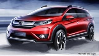 Honda sắp ra mắt SUV 7 chỗ mới với tên gọi BR-V