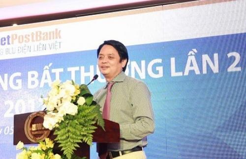 Ông Nguyễn Đức Hưởng là tân Chủ tịch HĐQT LienVietPostBank