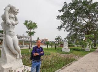Tạo điểm nhấn văn hóa bằng vườn tượng