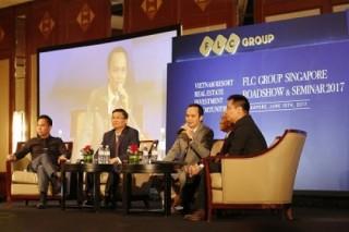 FLC giới thiệu sản phẩm BĐS nghỉ dưỡng tại Singapore