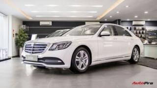 Ngắm Mercedes-Benz S450 2018 trước ngày chính thức ra mắt