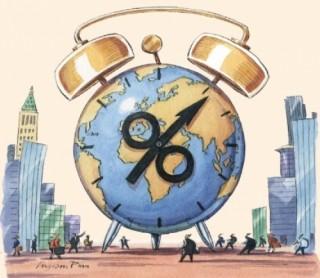 Kinh tế toàn cầu đối mặt với thách thức mới - lãi suất tăng