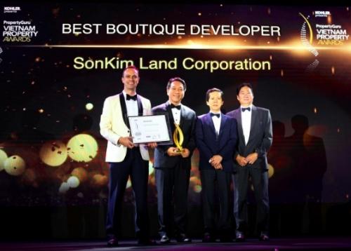"""Nhà phát triển BĐS """"xuất sắc nhất dòng Luxury Boutique"""""""