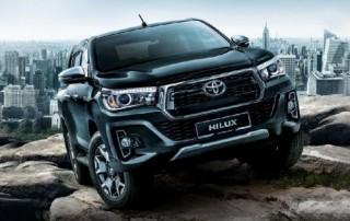 Toyota Hilux phiên bản 2018 có giá từ 695 triệu đồng