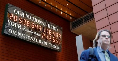 Nợ công của Mỹ tiệm cận mức cao kỷ lục