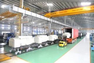 Thaco xuất khẩu bồn nhiên liệu sang Hàn Quốc