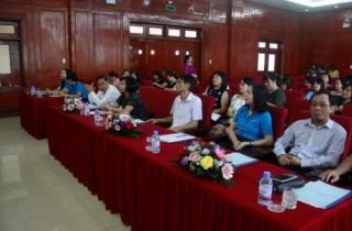 Công đoàn Cơ quan NHNN TW tổ chức tập huấn công tác Nữ công năm 2019