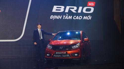 Honda Brio chốt giá từ 418 triệu đồng tại Việt Nam