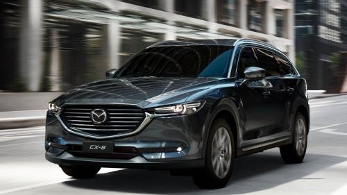 Mazda CX-8 có giá khởi điểm từ 1,149 tỷ đồng