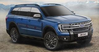 Xem trước Ford Everest 2022