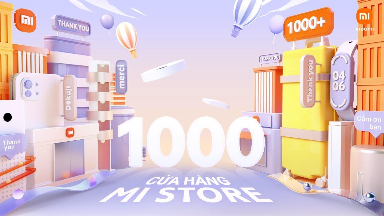 xiaomi don chao su kien can moc 1000 mi store cung mi fans