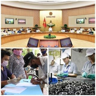 Chỉ đạo, điều hành của Chính phủ, Thủ tướng Chính phủ nổi bật tuần từ 7-11/6/2021