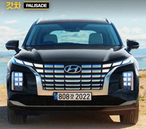 Xem trước chiếc SUV 7 chỗ cỡ lớn Hyundai Palisade 2022
