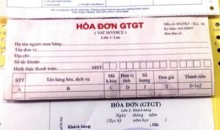 Giải đáp thắc mắc về hóa đơn GTGT