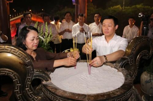 Nghĩa tình sâu nặng tri ân các Anh hùng liệt sĩ tại Quảng Trị
