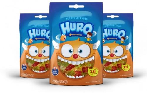 Ra mắt sản phẩm kẹo dẻo lợi khuẩn HURO