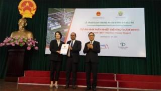 Nam Định sẽ có Nhà máy nhiệt điện trị giá hơn 2 tỷ USD