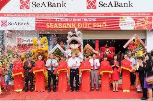 SeABank vừa khai trương trụ sở mới 3 điểm giao địch