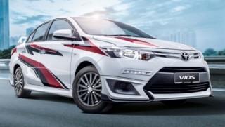 Toyota Vios Sports Edition có giá từ khoảng 449 triệu đồng