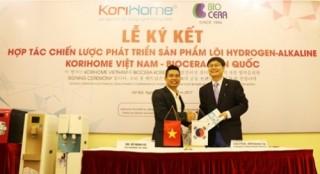 Korihome bắt tay Biocera phát triển sản phẩm lõi Hydrogen Alkaline tại Việt Nam
