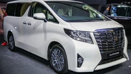 Toyota Alphard sắp có mặt tại Việt Nam