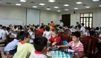 CĐNH Việt Nam tổ chức giải cờ Vua nhanh Hà Nội mở rộng tranh Cúp Kim Đồng lần thứ nhất