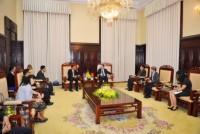 Tăng cường hợp tác giữa NHTW hai nước Việt Nam - Lào