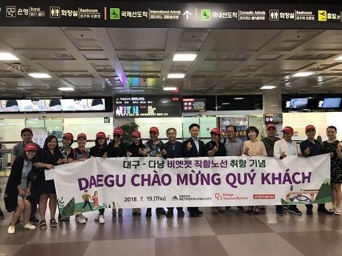Vietjet mở đường bay mới từ Đà Nẵng đến Daegu