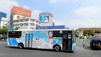 Thu hơn 177 tỉ đồng từ đấu giá quảng cáo trên thân xe buýt