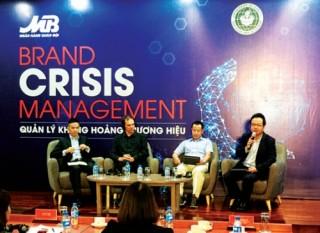 Thương hiệu và cách quản lý khủng hoảng