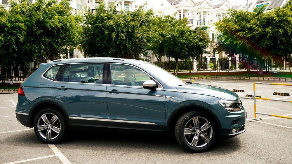 Volkswagen Tiguan Allspace Luxury giá 1,85 tỷ đồng có gì?