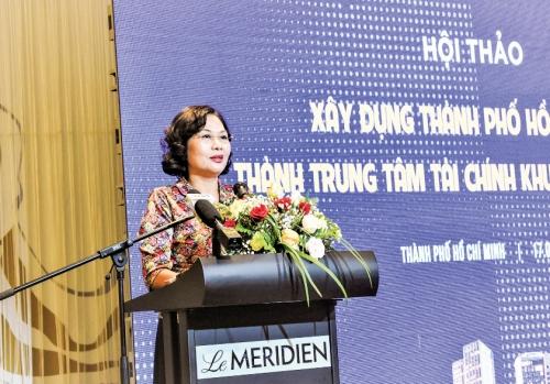 Để TP.HCM trở thành trung tâm tài chính khu vực và quốc tế